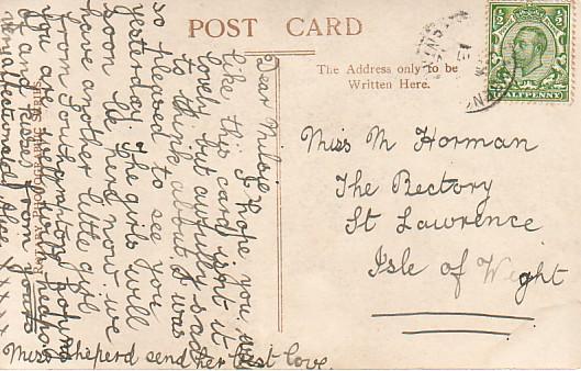Titanic Postcards